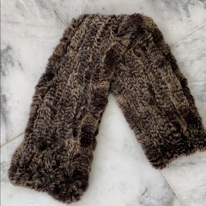 Accessories - Genuine fur scarf/wrap